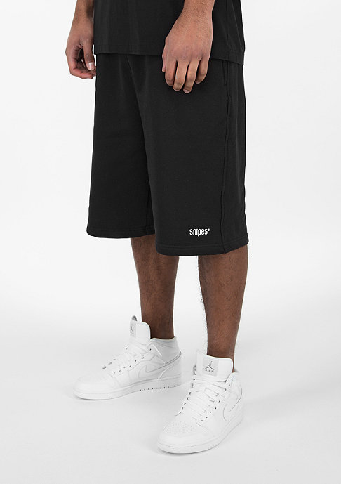SNIPES Basic Sweat black/white