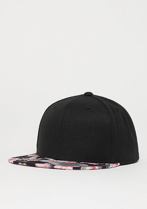 Flexfit Snapback-Cap Floral red