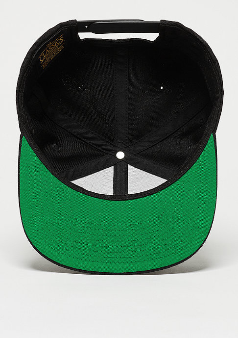 Urban Classics Snapback-Cap Leatherpatch black