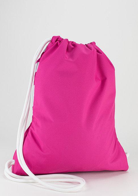 NIKE Turnbeutel Heritage hot pink/white