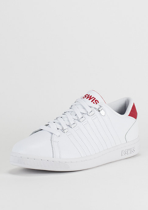 K Swiss Lozan III white/red