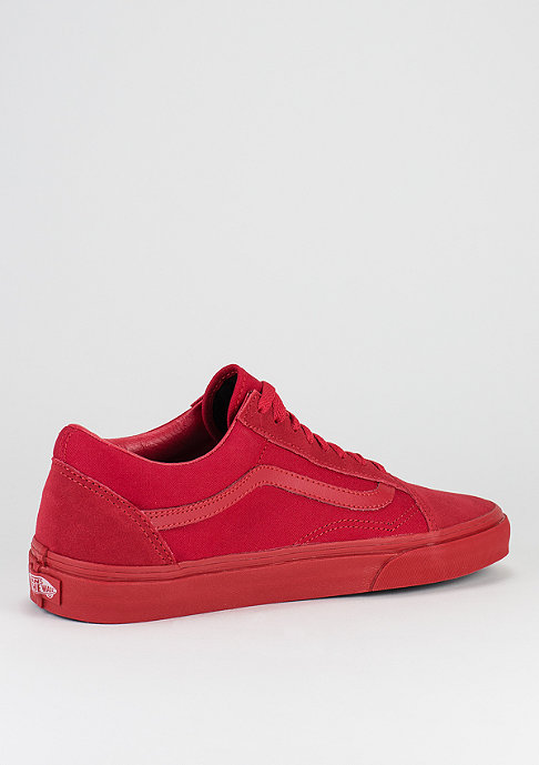 VANS Schuh Old Skool Mono true red/black