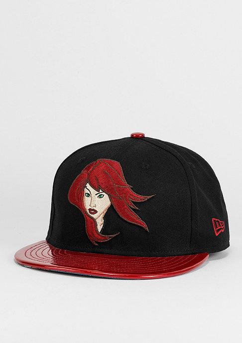 New Era Snapback-Cap Avengers 9Fifty Black Widow