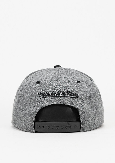 Mitchell & Ness Snapback-Cap Broad Los Angeles Kings grey/black