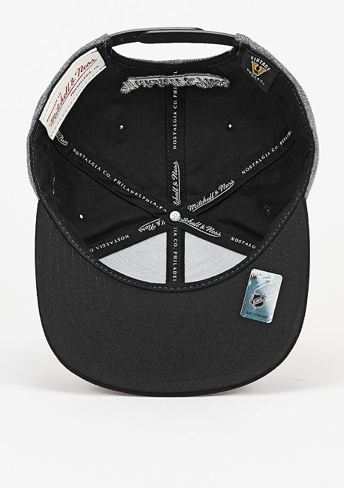 Mitchell & Ness Snapback-Cap Broad NHL Los Angeles Kings grey/black