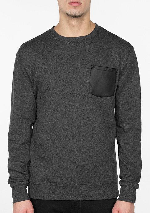 Urban Classics Contrast Pocket charcoal/leather