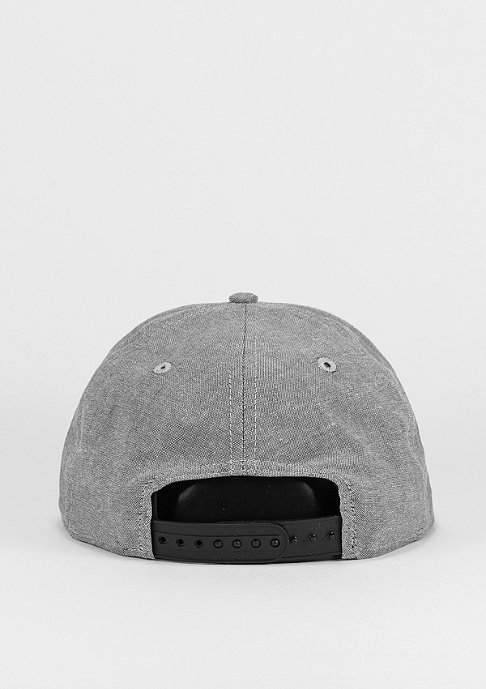New Era 9Fifty Two Tone Chambray Patch grey