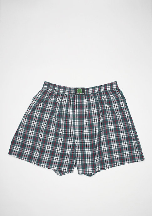 Treesome Plaid green/white/red