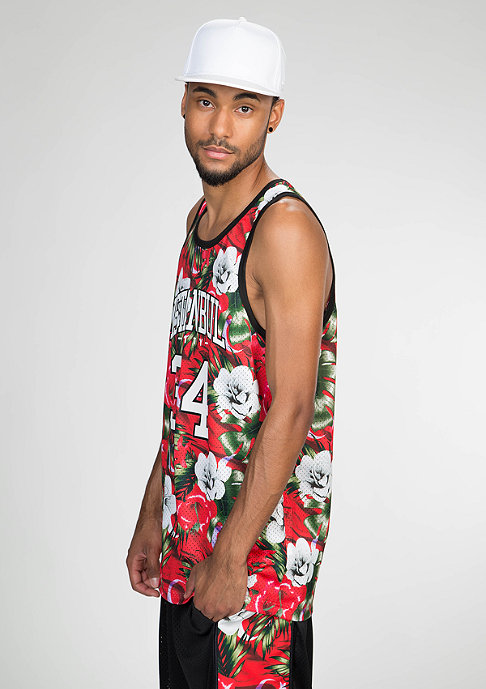 Cayler & Sons Tanktop Istanbulz Mesh red/white