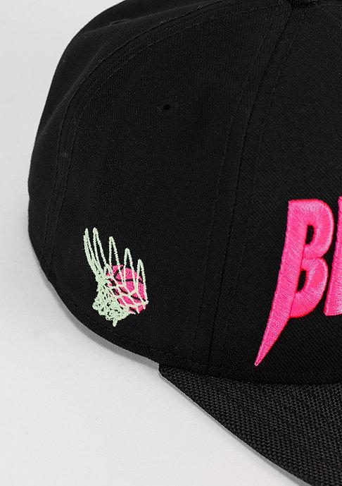 Cayler & Sons Snapback-Cap Brooklus black/pink/green