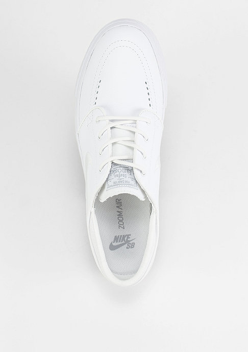 NIKE SB Zoom Stefan Janoski Leather white/white/wolf grey
