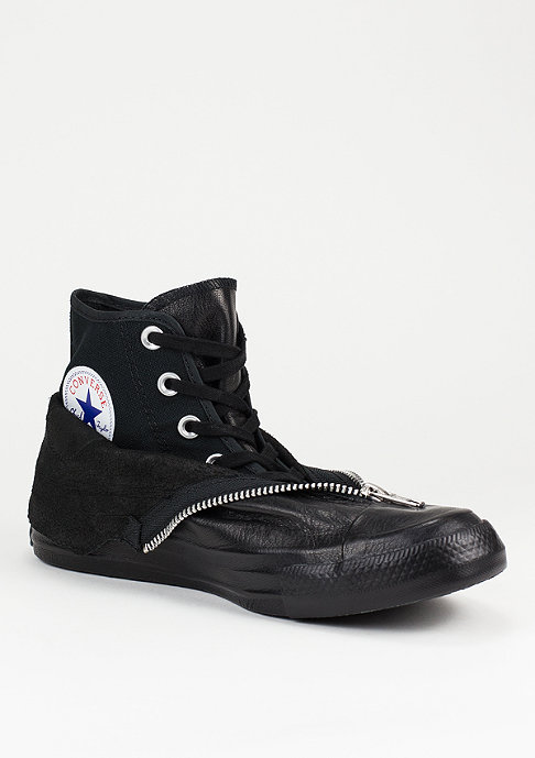 Converse Schuh CTAS Leather Shroud black/white/black