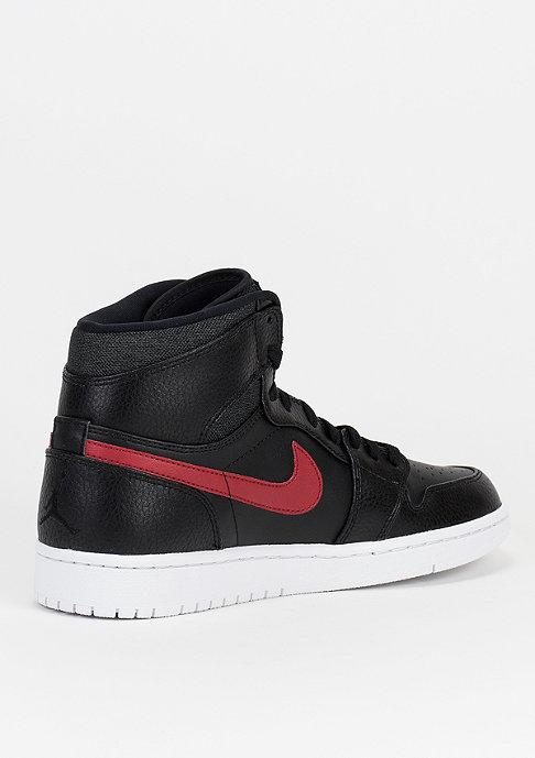 JORDAN Basketballschuh Air Jordan 1 Mid black/gym red/white