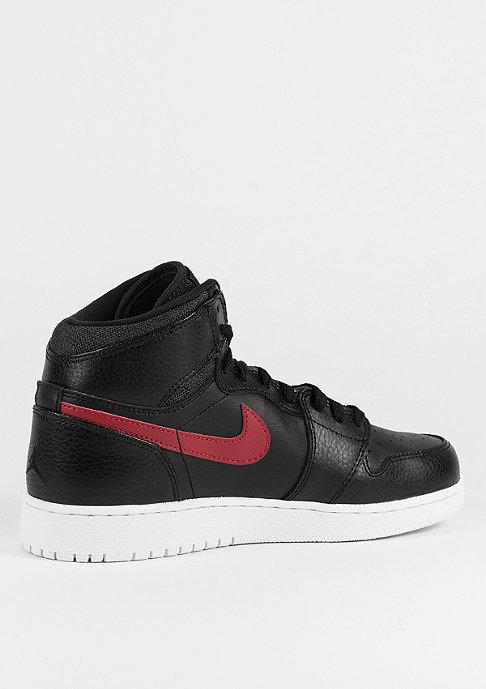 JORDAN Basketballschuh Air Jordan 1 Retro High black/gym red