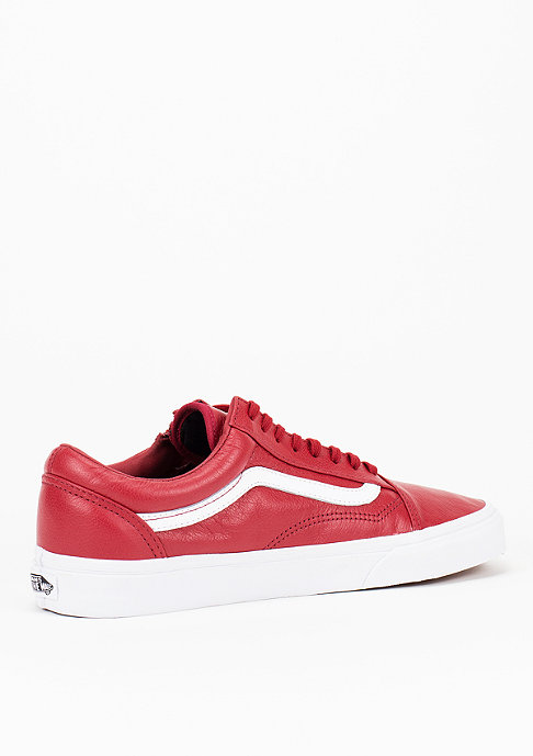 VANS Schuh Old Skool Zip Premium Leather chili
