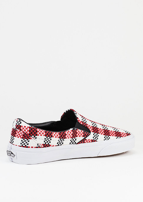 VANS Schuh Classic Slip-On Checker Plaid black/whit