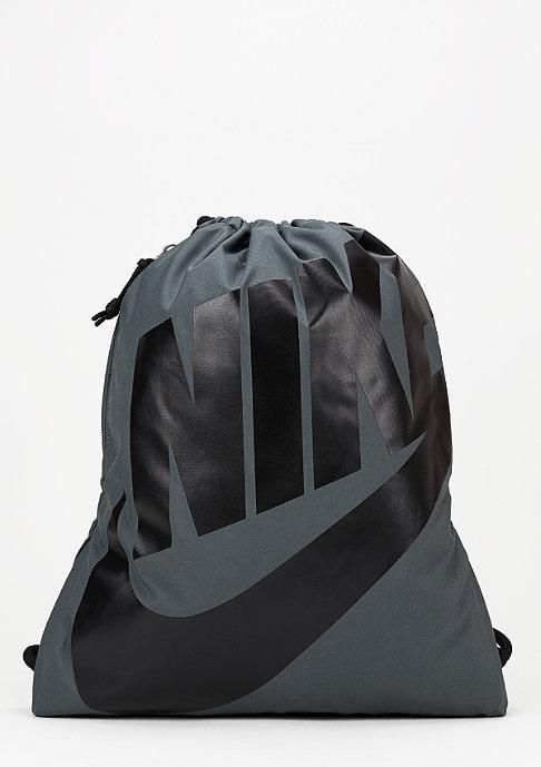 NIKE Turnbeutel Heritage dark grey/black/black