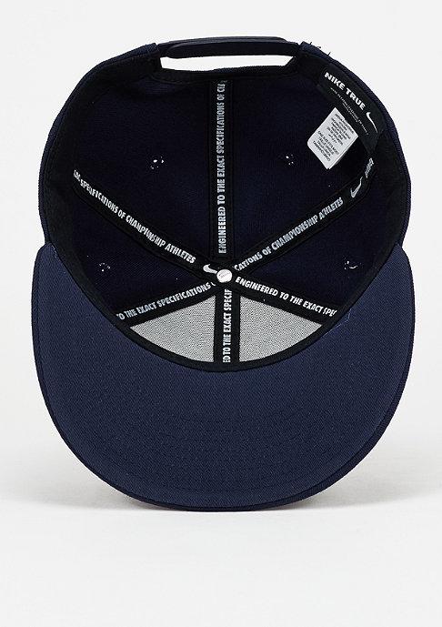 NIKE Snapback-Cap Futura obsidian/black/white