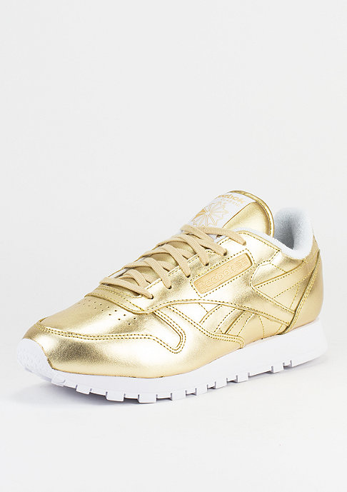 Reebok Laufschuh Classic Leather Spirit gold/white