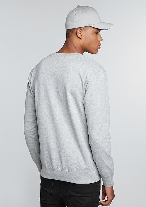 Mister Tee Sweatshirt BRKLYN heather grey