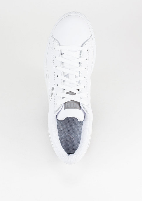 Puma Schuh Basket Classic Reflective white/p.silver