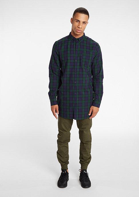 DRMTM DRMTM Shirt Flannel Long green/navy