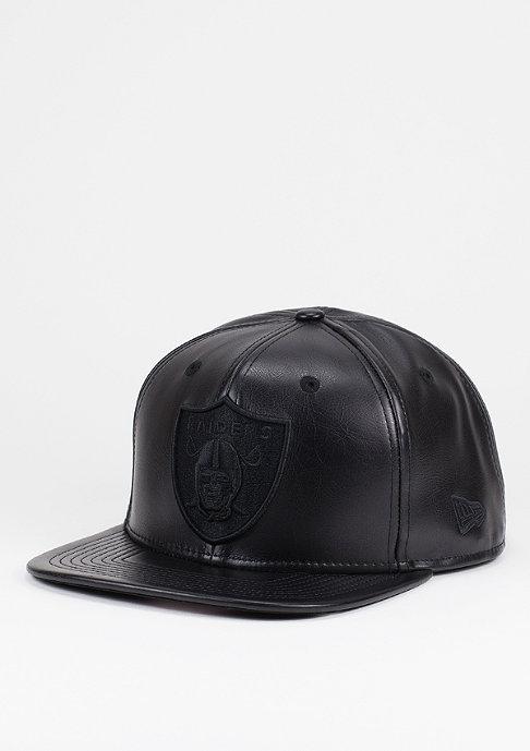 New Era Snapback-Cap PU Tonal NFL Oakland Raiders black