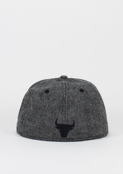 New Era Leather Tweed NBA Chicago Bulls black