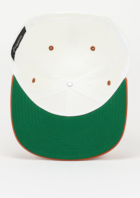 Brixton Snapback-Cap Hamilton white/burnt orange