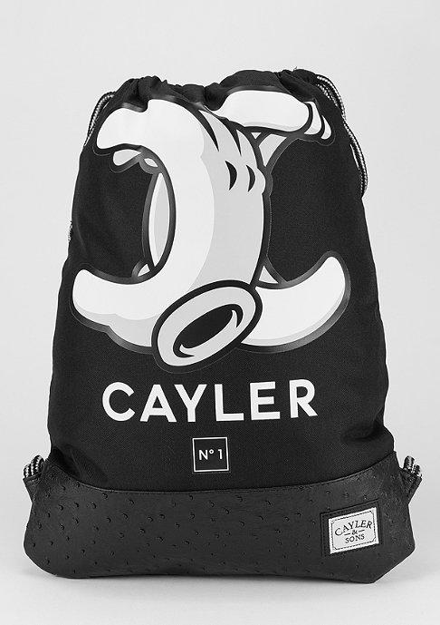 Cayler & Sons Turnbeutel No. 1 black/white