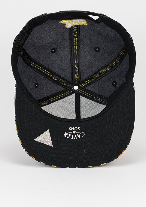 Cayler & Sons C&S GLD Cap Cee Paisace black/gold