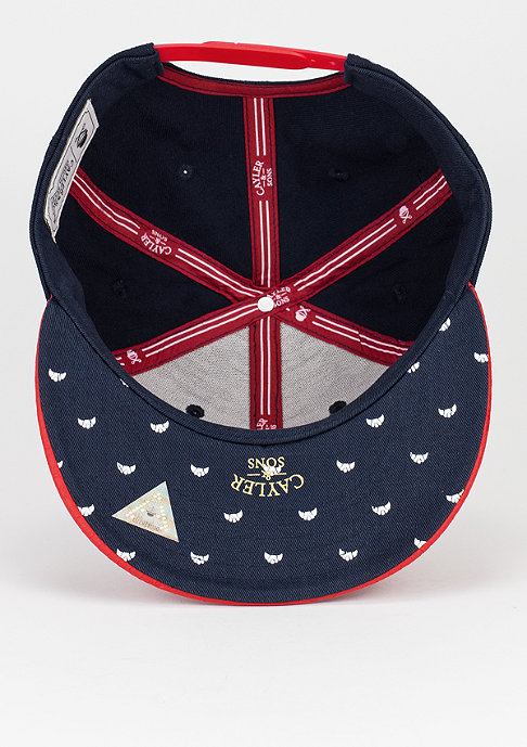 Cayler & Sons Snapback-Cap WL Paris navy/red snake/white