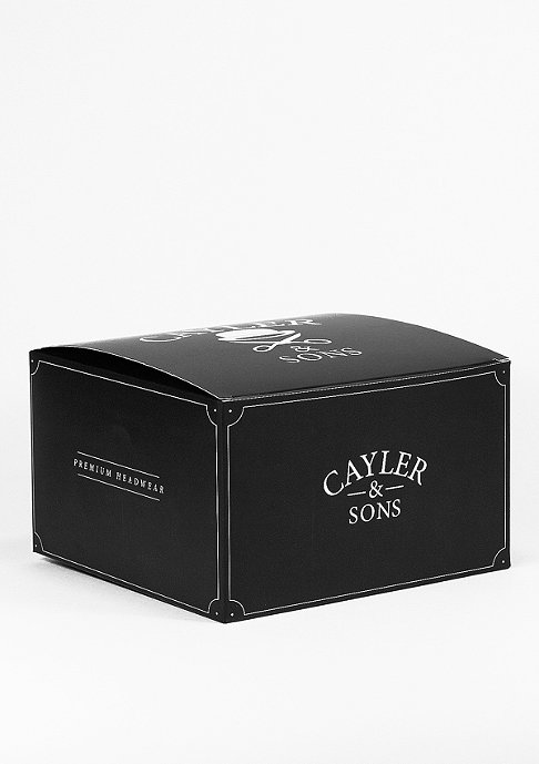 Cayler & Sons Snapback-Cap WL Bon Voyage black/white