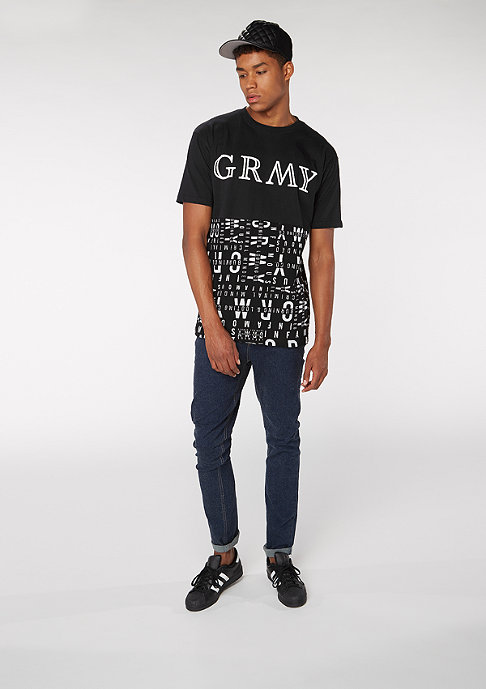 Grimey GRMY Lettering black