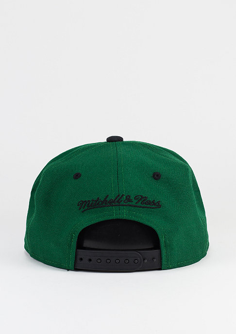 Mitchell & Ness Snapback-Cap Team Arch HWC Boston Celtics green/black