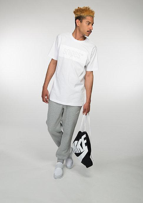 SNIPES T-Shirt Box Logo white/off white
