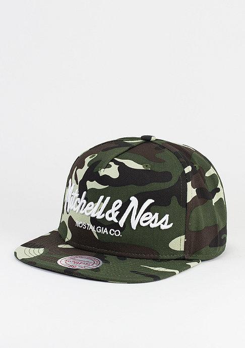 Mitchell & Ness Snapback-Cap Pinscript camo