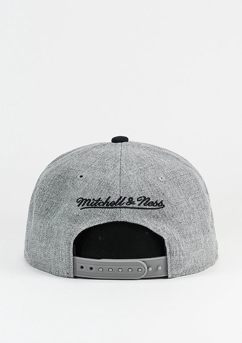 Mitchell & Ness Pinscript grey heather/black