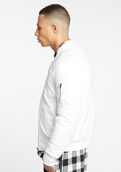 Urban Classics Jacke Basic Bomber white