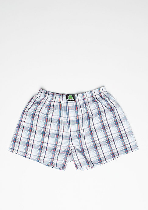 Treesome Boxershort Plaid blue/white