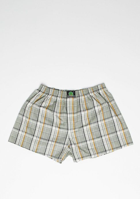 Treesome Boxershort Plaid green/beige