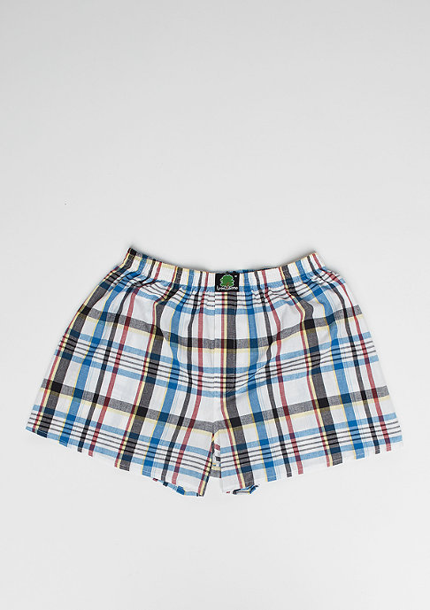 Treesome Boxershort Plaid white/blue/red