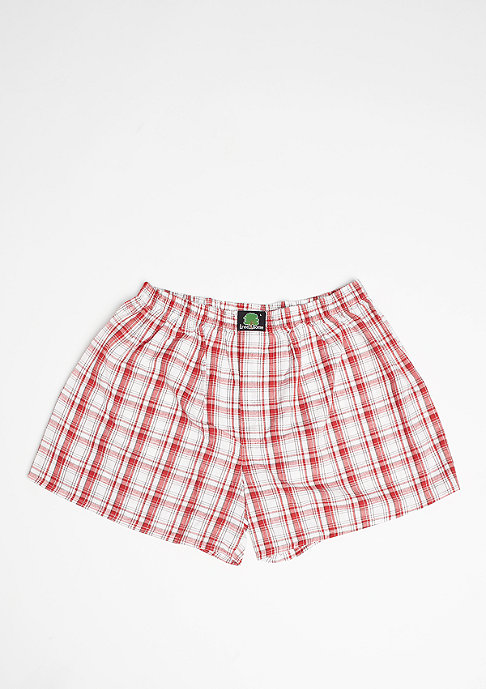 Treesome Boxershort Plaid red/white