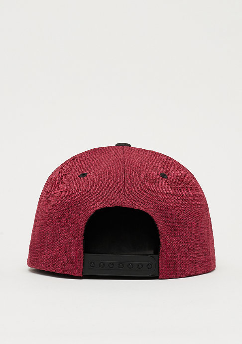 Flexfit Snapback-Cap Melange 2-tone red/black