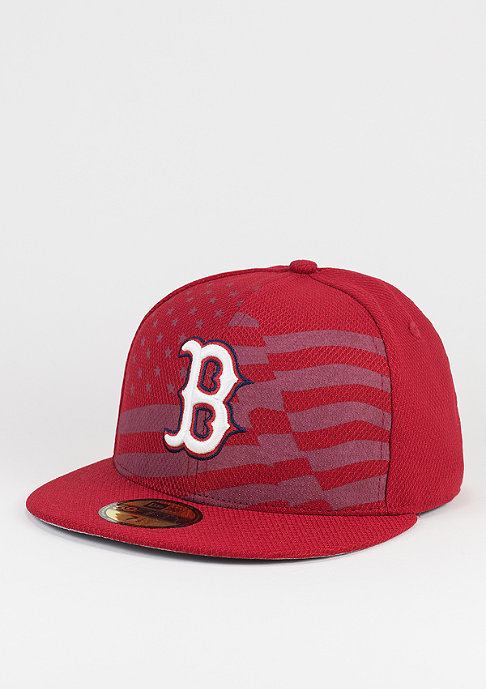 New Era Fitted-Cap MLB 4th July 59Fifty Boston Red Sox