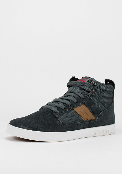 Supra Bandit forest green/tan/red/white