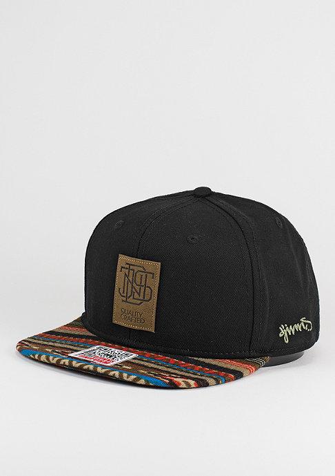 Djinn's Snapback-Cap Aztec black