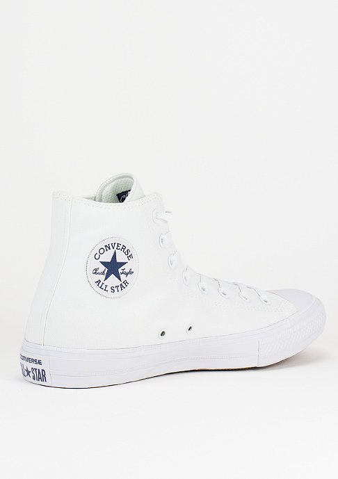 Converse CTAS II Hi white/white/navy