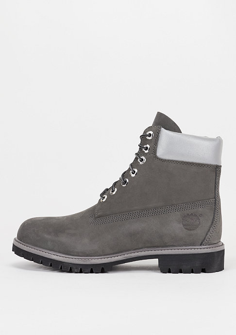 Timberland 6 inch Premium grey/silver reflective