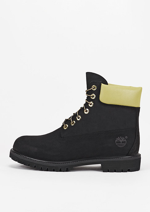 Timberland Stiefel 6-Inch Premium black/gold reflective